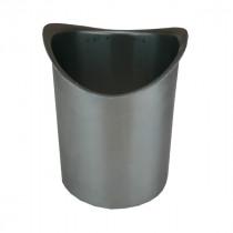 Naissance Cylindrique Zinc Naturel sortie diam 100 mm à Souder, dev 33 cm