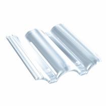 Tuile Plexiglass Plein Ciel - ref Monier PC556, carton de 10 U