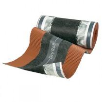 Closoir ventilé Dryroll rouleau de 295mm/10 m, coloris rouge, par 4