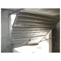 Isolant mince en kit pour porte de garage, 2 x 2,40 m