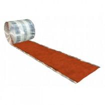 Rouleau Wakaflex pour abergement, 18 cm / 5m, coloris rouge