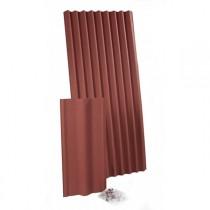 Plaque ondulée bitumée Monartoit Ultra rouge, 75 plaques de 1,71 M2
