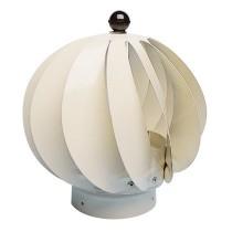 Extracteur eolien anti-refouleur Aspiromatic Sebico ton pierre ⌀100 mm