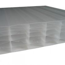 Plaque Polycarbonate Alvéolaire - Opale - 55 mm - 1,25 m - Longueur de 2 à 7 m