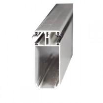Kit Jonction Profil Tube 121 + Capot - 16 mm - Alu - Longueur 2 à 7 m