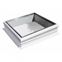 Fenêtre pour toit plat avec costière prêt à poser, dimensions au choix