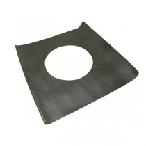 Plaque étanche 500x500 mm pour conduit Double Paroi Isolé