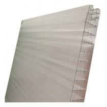 Plaque Polycarbonate Alvéolaire Emboîtable Opale - 40mm - long 1 à 8 m