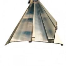Kit profil Bas Clickfix - 40 mm - Alu – Longueur 6 ml avec Bavette