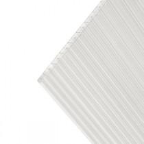 Plaque Polycarbonate Alvéolaire 2,15 kg/m2 Claire 16 mm - 0,98 m x 3 m