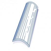 Tuile de verre Canal, ref LR n°116, en carton de 8 U