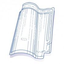 Tuile de verre DCL 91 Guiraud, ref LR n° 91, carton de 5 U