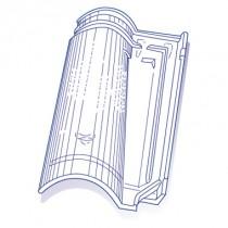 Tuile de verre Abeille, ref LR n°56, carton de 5 U