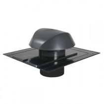 Chapeau de Ventilation Anthracite Atemax ⌀160mm Nicoll VVA16A Ardoise