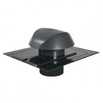 Chapeau de Ventilation Anthracite Atemax ⌀100mm Nicoll VVA10A Ardoise