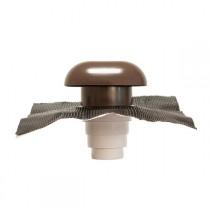 Chapeau de Toiture diamètre 100 à 160mm marron CVC160