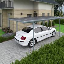 Carport Aluminium Gris en Kit Verona Palram 297,5 x 500 cm