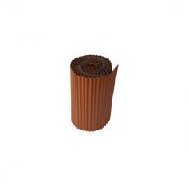 Rouleau de Plomb Plissé Rouge 14 cm x 2 m, épaisseur 0,5 mm