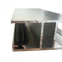 Profil H Jonction éco + joint – 16 mm - Alu – Longueur 3m
