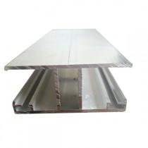 Profil jonction éco type H + joint – 16 mm - Alu – Longueur de 2 à 7 m