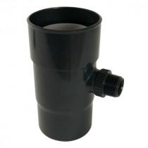 Récupérateur eau pluviale Anthracite Diamètre 100 mm Nicoll REPF100A