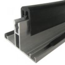 Kit Jonction Profil T + Joint - 16 mm - Alu - Longueur de 2 m à 7 m