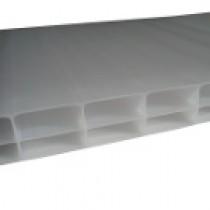 Plaque Polycarbonate Alvéolaire - Opale - 16 mm - 0,98 m - Longueur de 2 à 7 m