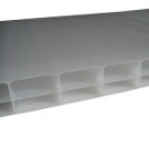 Plaque Polycarbonate Alvéolaire - Opale - 16 mm - 1,25 m - Longueur de 2 à 7 m