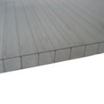 Plaque Polycarbonate Alvéolaire Claire - 10 mm - 2,10 m x de 2 m à 7 m
