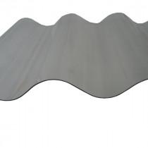Plaque Polycarbonate Ondulé - Petites Ondes - 0,9 m x 3,05 m