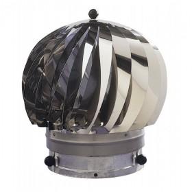 Extracteur eolien anti-refouleur Aspiromatic Sebico inox, modèle 240