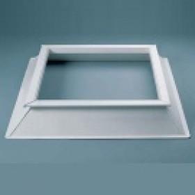 Costière pyramidale en PVC pour dôme - dimensions aux choix, la costière