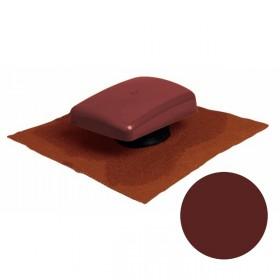 Terminal Ubiflu 2 pour tuile, couleur Rouge 100 à 160 mm, la pièce