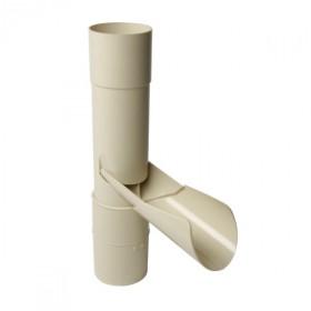 Récupérateur eau pluviale clapet Sable Diamètre 100 mm Nicoll REP100S