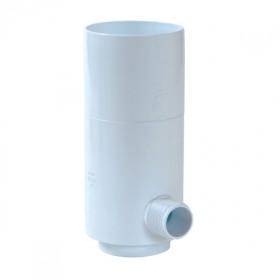 Récupérateur eau pluviale Blanc Diamètre 80 mm Nicoll REPTD80B