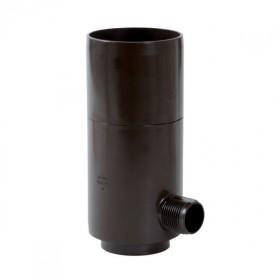 Récupérateur eau pluviale Marron Diamètre 80 mm Nicoll REPTD80M