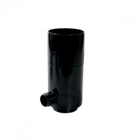 Récupérateur eau pluviale Noir Diamètre 80 mm Nicoll REPTD80N